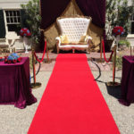 Love Seat & Red Carpet