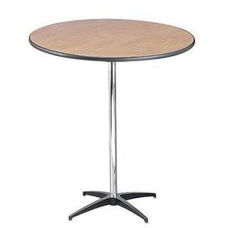 1707. 30'' high cocktail table  $10.00