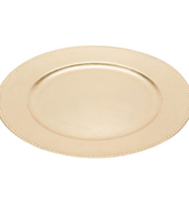 1724 Charger Plate Gold 13''