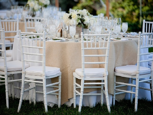 White Chiavari Chair Inspiration
