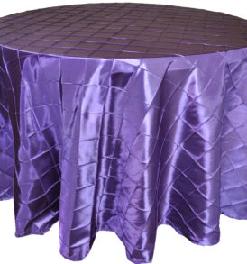 Purple Satin Linen