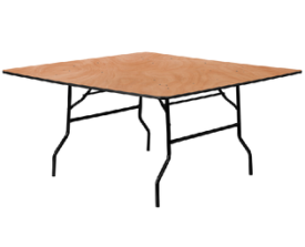 "60""x60"" Square Table"