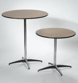 36 inch cocktail table (Tall & Short)