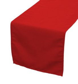 red-polyester-table-runners