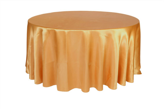(specialty fabric)120-inch-round-satin-tablecloth-gold